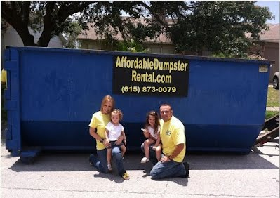 rent a roll off dumpster in nashville tn